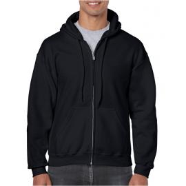 Adult 'Follow Risk Warning' heavy blend full zip line dance hoodie sweatshirt