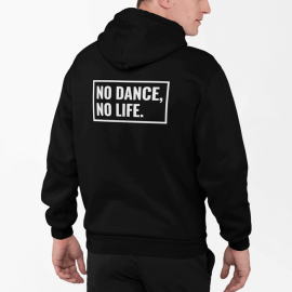Adult 'No Dance No Life' heavy blend full zip hoodie sweatshirt