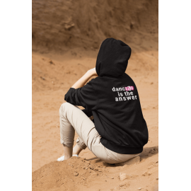 Adult 'Dance is the Answer' heavy blend full zip hoodie sweatshirt