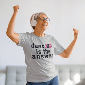 ELD Ladies 'dance is the answer' PREMIUM T-Shirt