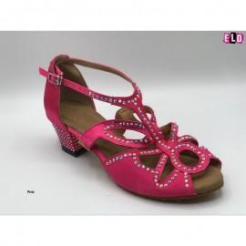 Butterfly Design ladies line dance shoe