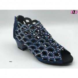 New Diamante Boot Style ladies line dance shoe