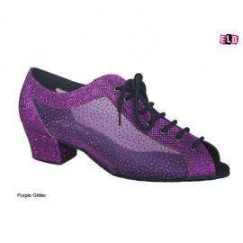 Glitter Practice ladies line dance shoe