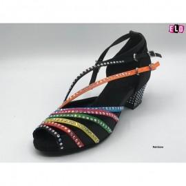 Stylish Diamante Sandal Style ladies line dance shoes