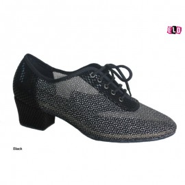 Oxford Style Glitter Practice Line Dance Shoes