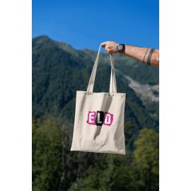 ELD Cotton shopper Tote Bag (Black or Natural)