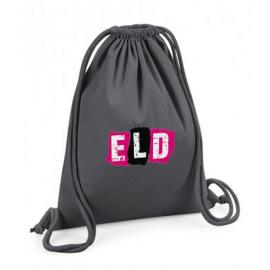 Organic Premium Cotton Gymsac with ELD logo - 4 colours