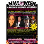 Halloween 21-24 Oct Line Dance Weekend