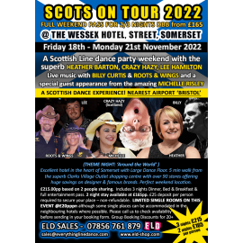 Scots on Tour 18-21 Nov 2022 weekend