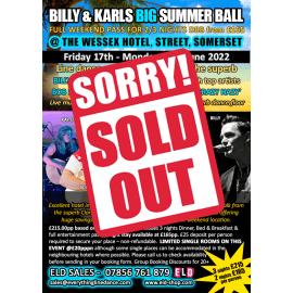 Billy & Karls Big Summer Ball - June 2022