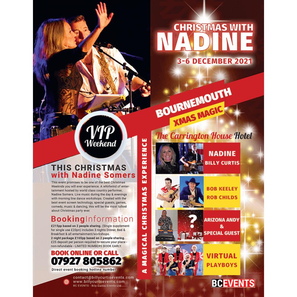 Christmas with NADINE - Bournemouth Dec 2021