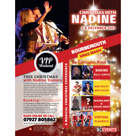 Christmas with NADINE - Bournemouth Dec 2021