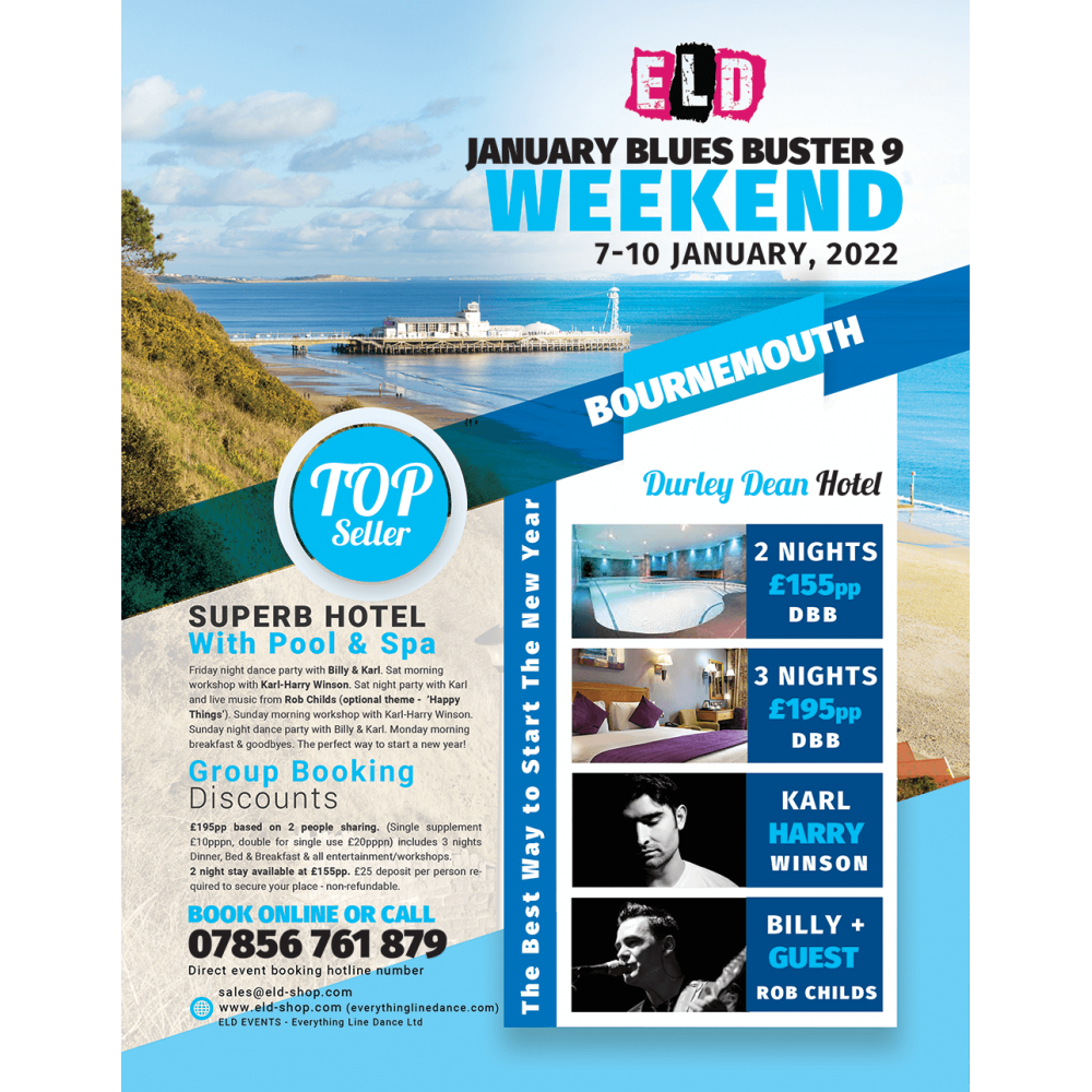 Jan Blues Buster Weekend - Bournemouth 2022