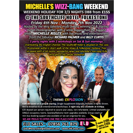 Michelle's WIZZ-BANG Folkestone Weekend Nov 2022