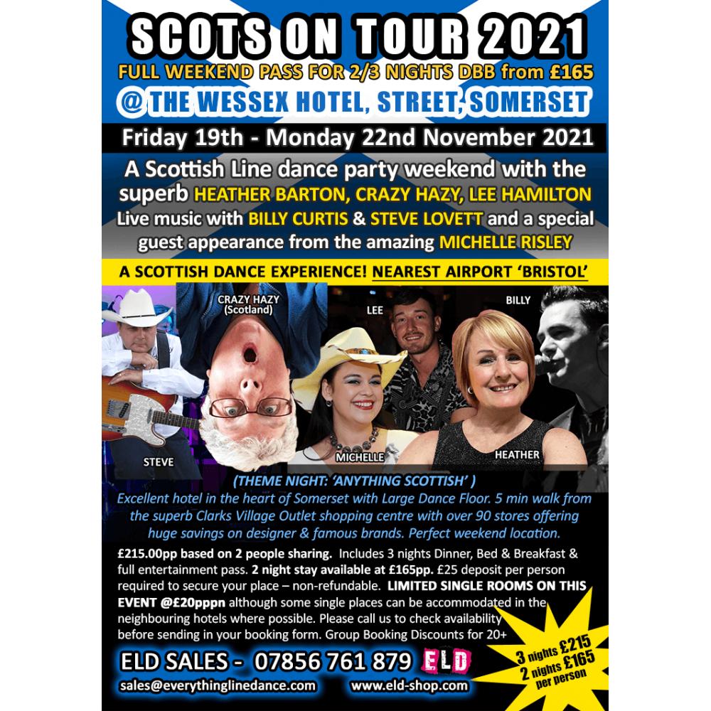 Scots on Tour 19-22 Nov 2021