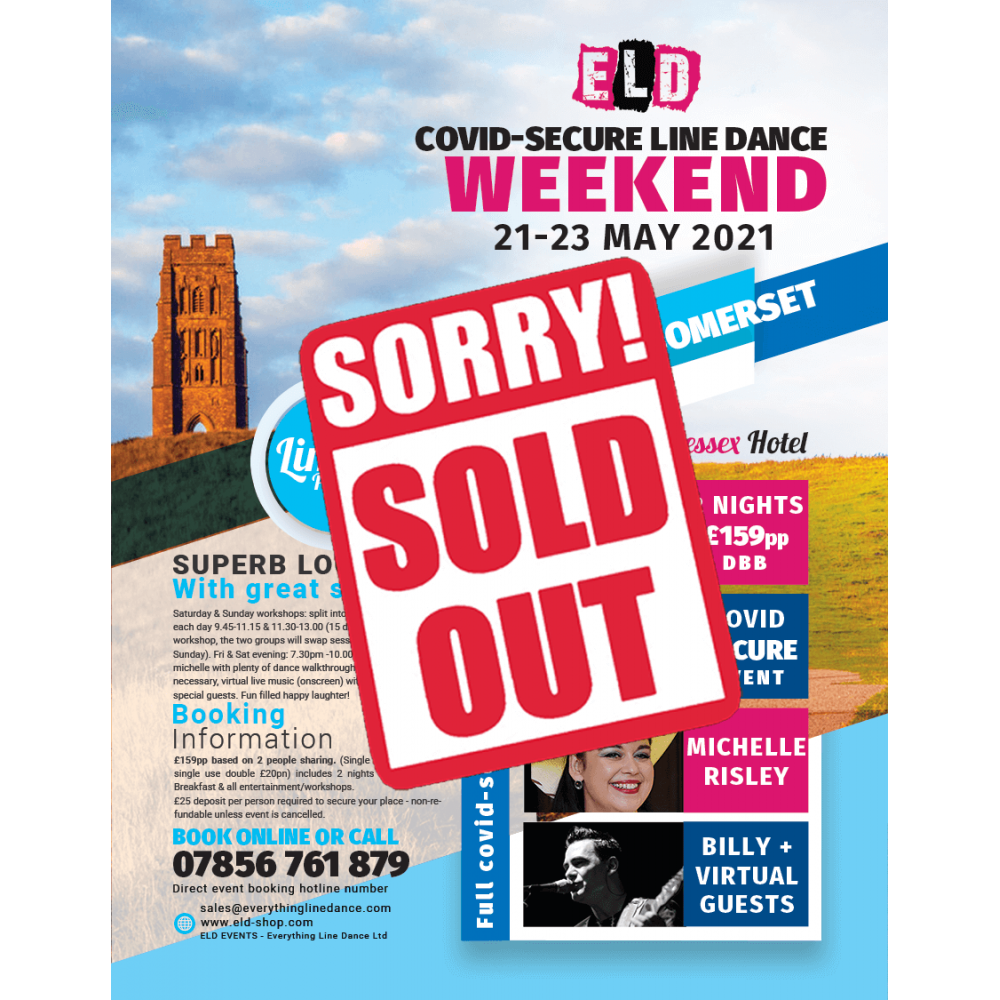 COVID-SECURE 21-23 May Line dance Weekend 2021