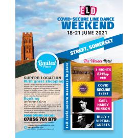 COVID-SECURE 18-21 June Line dance Weekend 2021