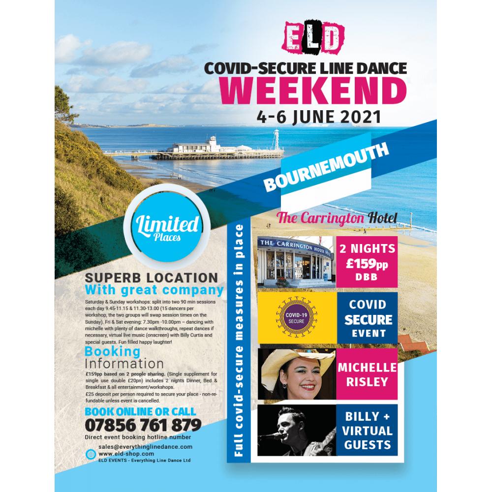 COVID-SECURE 4-6 June Line dance Weekend 2021