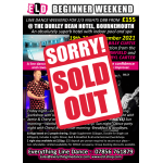 Beginner Weekend Bournemouth - Nov 2021