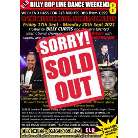 Billy Bop Line Dance Weekend 8 - Sept 2021