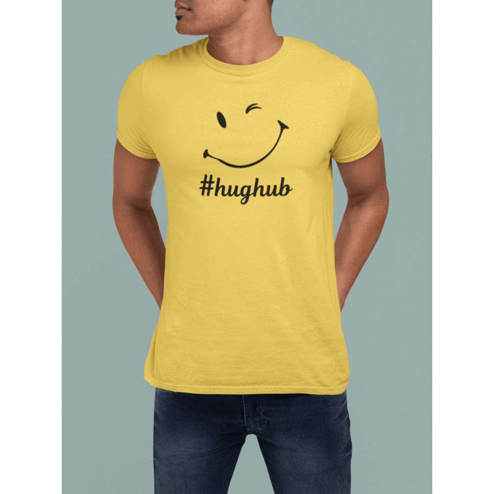 Mens '#hughub' smile Michelle Risley PREMIUM T-Shirt
