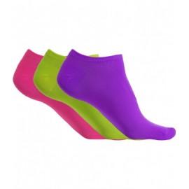 Microfibre Dance sneaker socks - PACK OF 3 PAIRS
